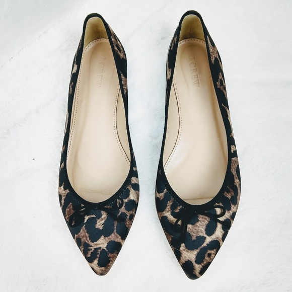 a3d23401b924 J. Crew Shoes | J Crew Gemma Leopard Flats | Poshmark